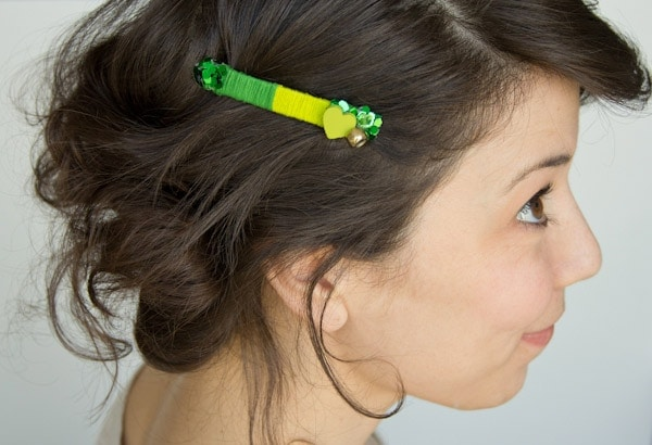 DIY Don't-Pinch-Me Barrette