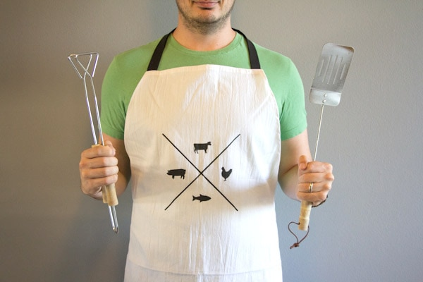 DIY Manly Man Apron