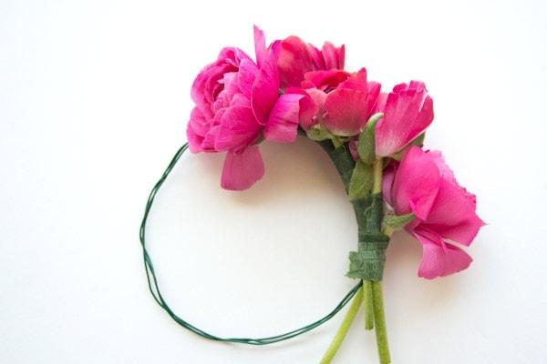 DIY Floral Bangle Bracelets & Mother's Day Gift Tag