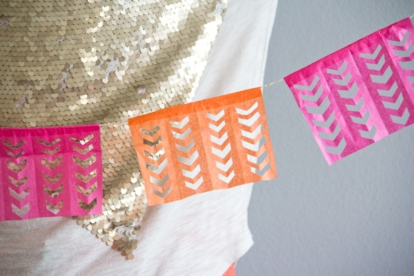 DIY Cinco de Mayo Garland