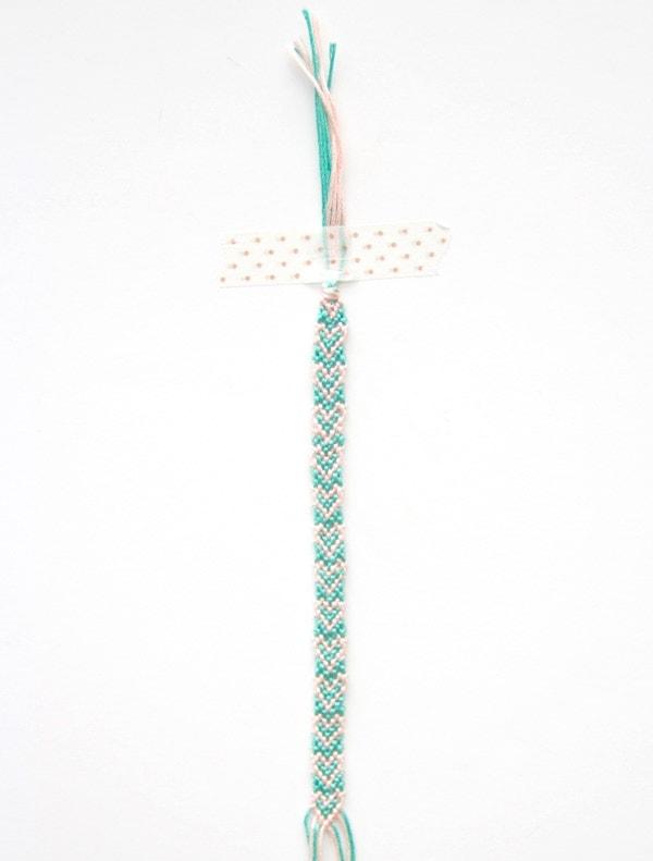 DIY Mother's Day Heart Friendship Bracelets