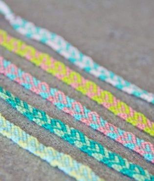 DIY Mother's Day Friendship Bracelets