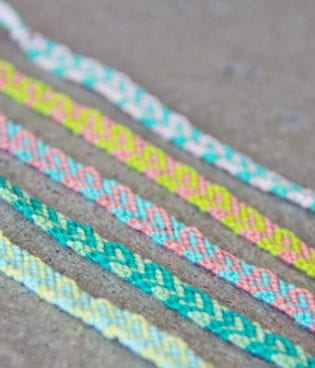 DIY Mother's Day Friendship Bracelets thumbnail