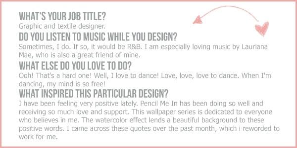 Desktop Designers // Keema of Pencil Me In Stationery