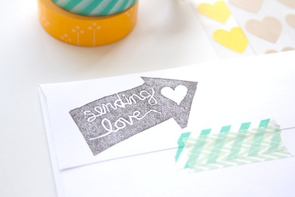 DIY Carved Stamp
