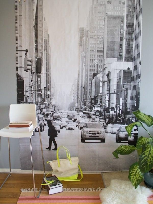 DIY Photo Wall Mural