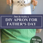 diy apron for fathers day