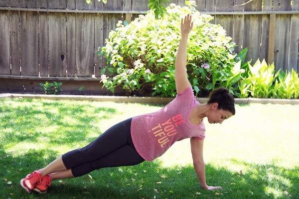 Backyard Yoga with Old Navy Active