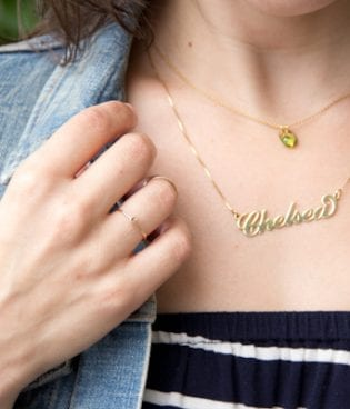 Style // Name Necklace thumbnail