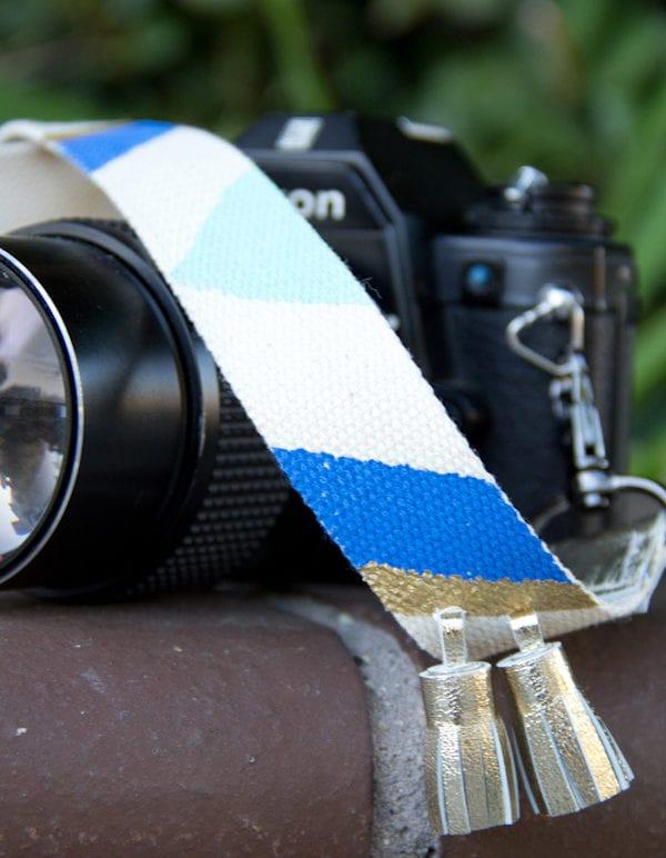 DIY Camera Strap with Tassels thumbnail