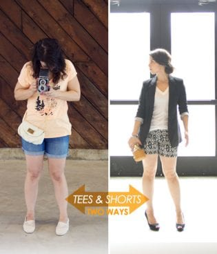 Style // Tees & Shorts Two Ways thumbnail