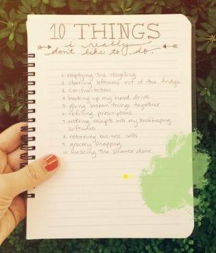 Ten Things: Stuff I Really Don't Like to Do thumbnail