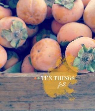 Ten Things: Fall thumbnail