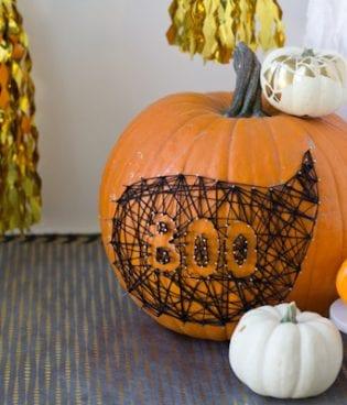 DIY String & Nail Art Pumpkin thumbnail