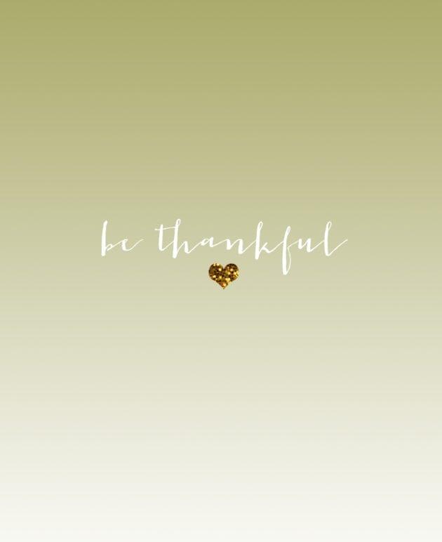 Be Thankful iPhone Wallpaper thumbnail
