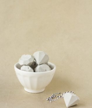 Make & Give // DIY Cement Gem Ornaments thumbnail