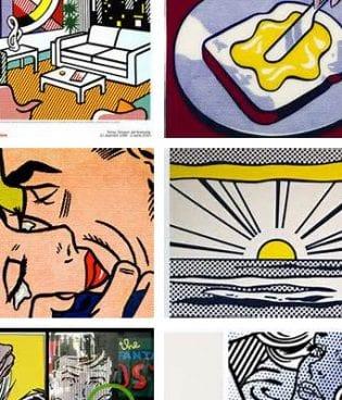 Make and Give // Vintage Postcard Pop Art thumbnail