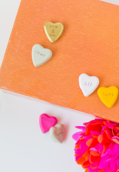 cement heart craft