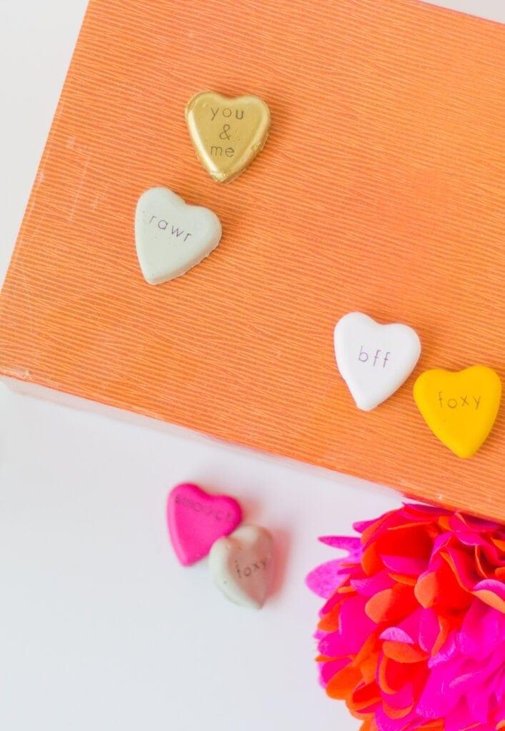cement heart craft