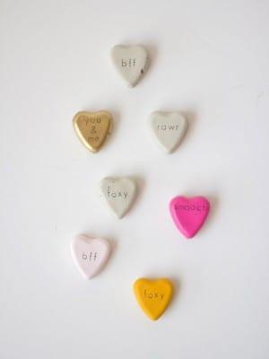 Happy Friday + Cement Valentines