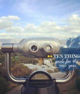 Ten Things // Goals thumbnail