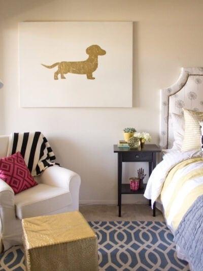 DIY Gold Leaf Art