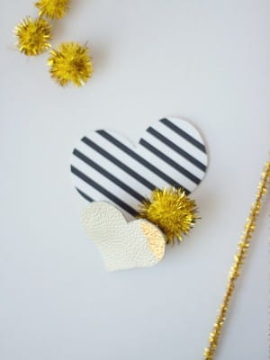 Lovely Indeed Leather Heart