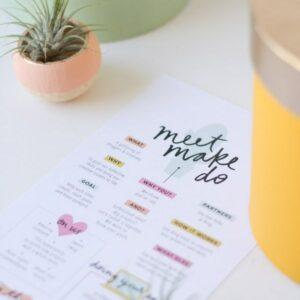 Meet/Make/Do