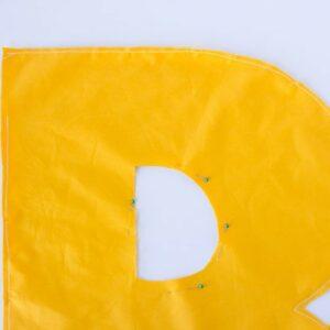 DIY Letter Pillows