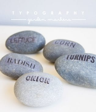 DIY Typography Garden Marker Download thumbnail