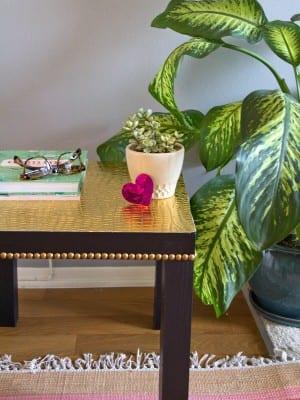 DIY Ikea Lack Table Upgrade