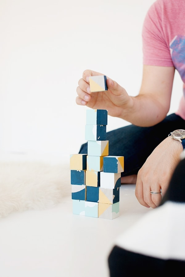 DIY Sky Blocks