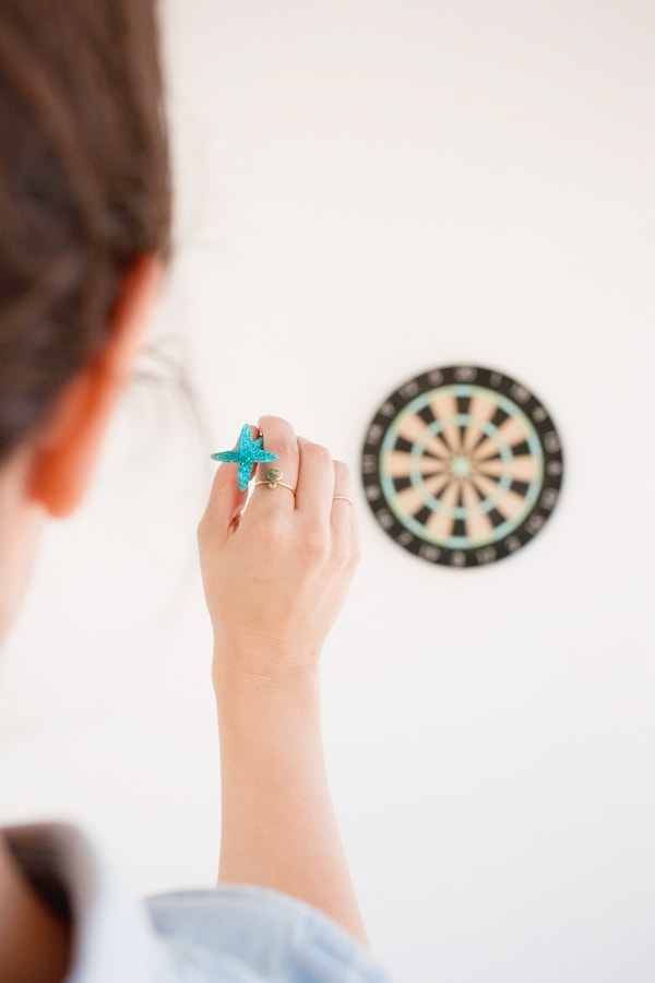 DIY Dartboard