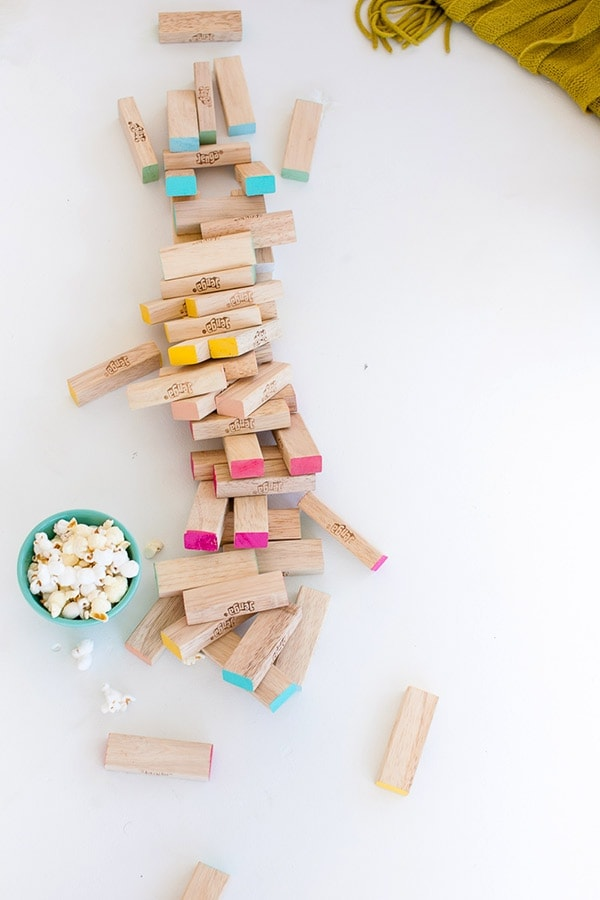 how to make a jenga set