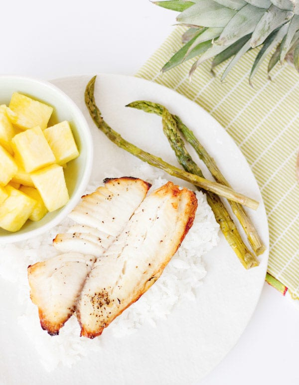 Grilled Pineapple Plank Tilapia thumbnail