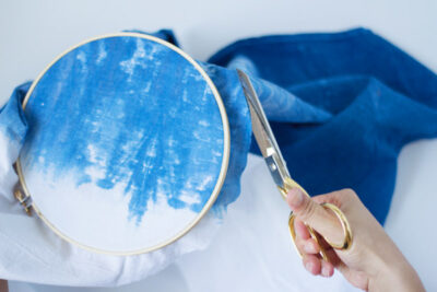 DIY Indigo Dyed Embroidery