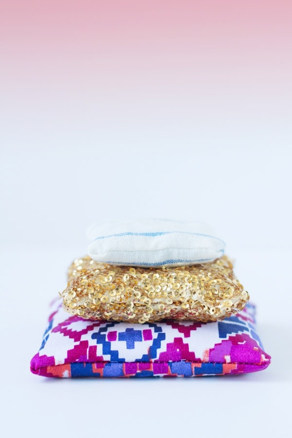 DIY Dried Lavender Sachet