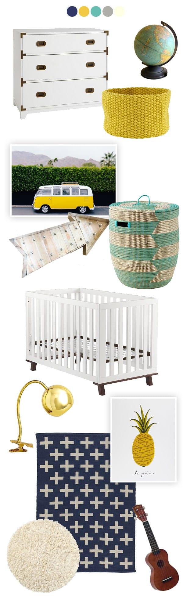 Baby Boy Nursery Inspiration