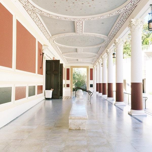 Los Angeles Travel // The Getty Villa