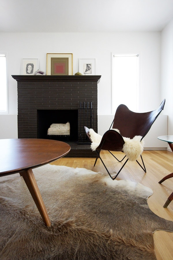 Brick Fireplace: To Paint or Not to Paint? » Lovely Indeed