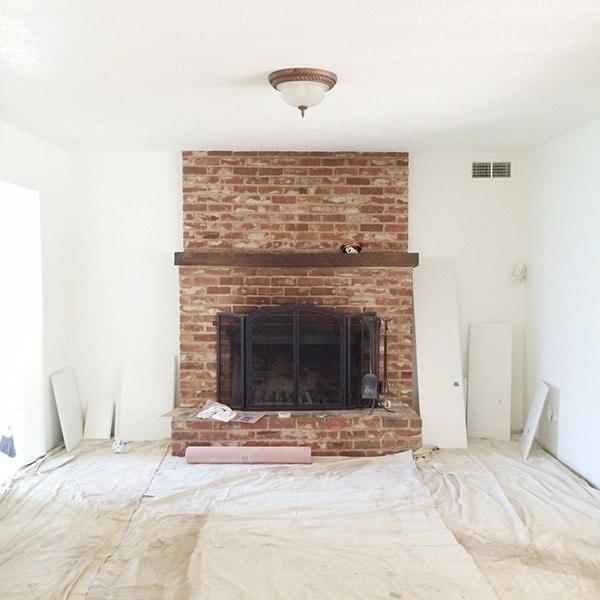New House Sneak Peek Before Photos