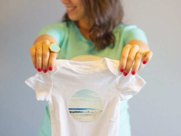 DIY Instagram Transfer T-Shirt & Onesie