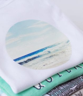 DIY Instagram Transfer T-Shirt & Onesie thumbnail