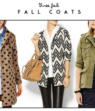 Three Fab Fall Coats thumbnail