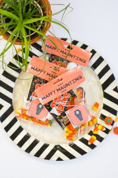 DIY Printable Trick-or-Treat Bag Labels