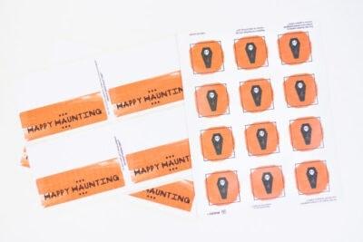 DIY Printable Trick-or-Treat Bag Labels