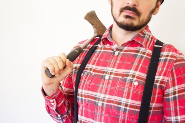 DIY Lumberjack Halloween Costume
