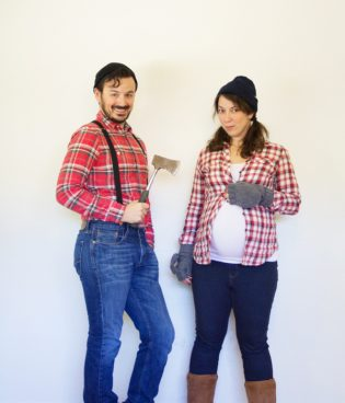 Costumes From Your Closet // Lumberjacks