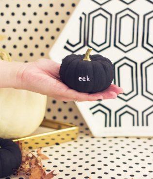 DIY Tiny Message Pumpkins
