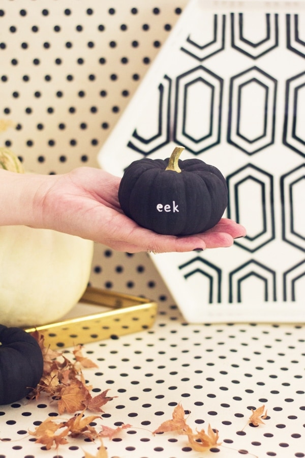 DIY Tiny Message Pumpkins